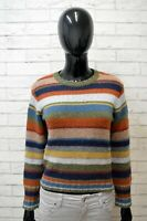 Maglione Woolrich Felpa Donna Size S Pullover Sweater Cardigan Lana Woman Righe