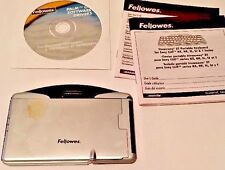 Fellowes Stowaya XT Portable Keyboard w manuals & Palm OS discs! Sony CLIE PDAs