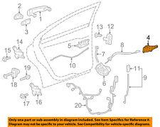 GM OEM Front Door-Handle Base Right 13505889