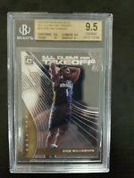 2019/20 Optic All Clear for Takeoff Zion Williamson Rc #14 BGS 9.5 GEM MINT B