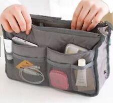 New Travelus Dual Bag Toiletry Cosmetic Make Up Bag Makeup Organizer-Navy Blue