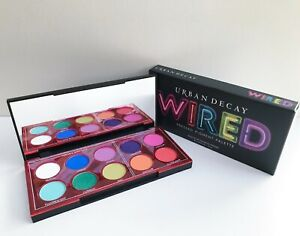 URBAN DECAY Wired 10 Colour Eyeshadow Palette, Limited Edition, Brand New in Box