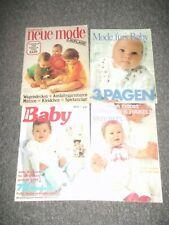 4 Baby Strick & Bastelhefte