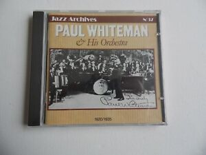 Paul Whiteman & His Orchestra - 1920/1935 - Jazz Archives No.37 - CD (3). NEW.