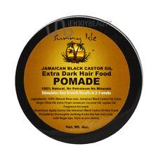 SunnyIsle Jamaican Black Castor Oil EXTRADARK Hair Food Pomade 4oz/FREE NailFile
