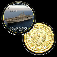 USS Kearsarge (LHD-3) GP Challenge pinted Coin