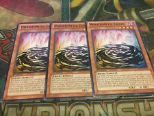 Yu-Gi-Oh Phantom of Chaos BP01-EN196!! Common! 1st! X3!