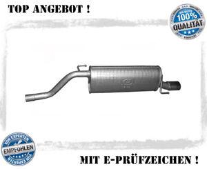 Endschalldämpfer Alfa Romeo Mito 1.4 58/70/77KW Auspuff Endtopf Schalldämpfer