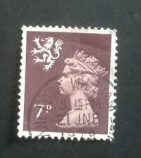 1 GB USED 7p BROWN MACHIN DECIMAL SCOTLAND SG S24 STAMP FORT WILLIAM POSTMARK