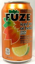MT UNOPEN 12oz American Coca-Cola's FUZE Lemon Ice Tea USA 2012 w Vitamin B6 B12