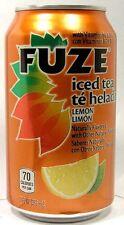 MT UNOPEN 12oz American Coca-Cola's FUZE Lemon Ice Tea USA 2012 w Vitamin B6 B12