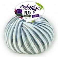 Plan 100g woolly Hugs con el Karo-efecto FB. 84 naturaleza gris gris oscuro azul claro