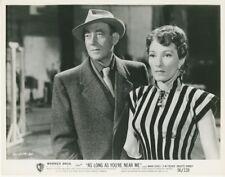 MATHIAS WIEMAN BRIGITTE HORNEY SOLANGE DU DA BIST 1953 VINTAGE PHOTO ORIGINAL #9