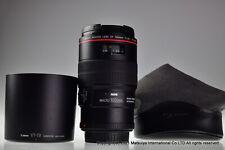 Near MINT Canon EF 100mm f/2.8L MACRO IS USM