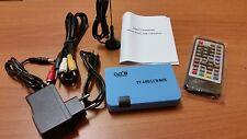 DIGITALE MINI DVB-T TERRESTRE USB REC MONITOR USCITA VGA
