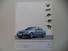 advertising Pubblicità 2003 MERCEDES BENZ CLASSE S