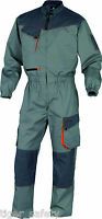 Delta Plus Panoply DMCOM D-Mach Light Grey Work Overalls Coveralls Boilersuit