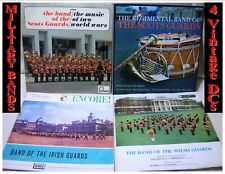 VINTAGE 1950's JOB LOT CDs Collectors Music (#521-5) Gift, 4 fab Military Bands