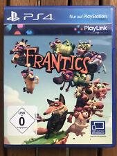 Frantics · Sony Playstation 4 PS4 · OVP · Neuwertig · DHL Versand