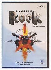 AMG Classic Rock for Garageband (Mac) Brand New Sealed - Free U.S. Ship - Nice