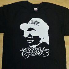 Eazy E T shirt NWA Gangster Rap Compton West Coast Los Angeles Tee Small-3X