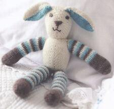 Knitting Pattern For Lovely Floppy Ear Bunny Rabbit Toy