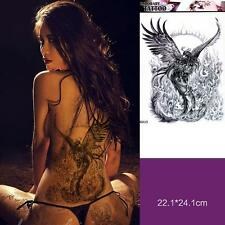 Large Removable Stickers Body Art Tattoo Waterproof Temp Tattoo--Phoenix