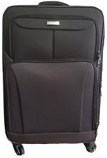 "Medium Lightweight Trolley Case Suitcase Luggage Weekend Bag 24"""