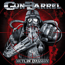 Gun Barrel-Outlaw invasion CD 2008 Kick-AAS power rock 'n' roll * NEW *