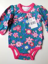 PUMPKIN PATCH BABY GIRL LONG SLEEVE ROMPER BODYSUIT SIZE 0000 NEWBORN *NEW