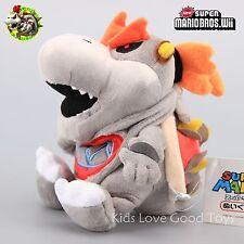 "Super Mario 3D Land Plush Doll Figure Dry Bones Bowser Koopa Doll Toy 7"" Teddy"