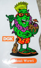 "DGK Maui Wowi Logo Skate Sticker 3.25 X 2"" skateboards helmets decal diamond"