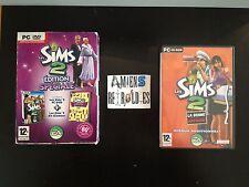 Les Sims 2 edition spéciale (avec extensions glamour kit, bonne affaire)  PC FR