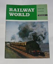 """RAILWAY WORLD JANUARY 1969 - FROM THE """"MISTRAL"""" TO CARDEAN/THE NIR SPOIL TRAINS"""