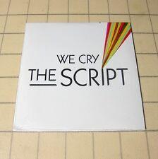 The Script - We Cry 2008 EU DJ Promo CD 1Trk #116*