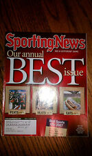 The Sporting News Our Annual Best Issue Feats Seats Eats Best Sports City 2007