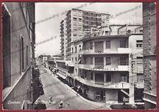 LIVORNO CITTÀ 81 Cartolina FOTOGRAFICA viaggiata 1961