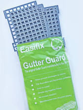 Easifix 4 Metre Rainwater Half Round & Square Line Leaf Trough Gutter Guard Grid