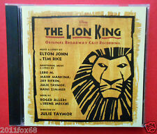 cd the lion king il re leone elton john hakuna matata circle of life simba scar