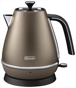 DeLonghi disk Tinta collection electric kettle 1.0L Future bronze KBI1200J-BZ