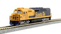 Kato N Scale 176-9211 EMD SDP40F Type IVa Santa Fe Road #5250 DCC Ready New!