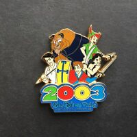 WDW - 2003 The Magical Place To Be Heroes Disney Pin 21388