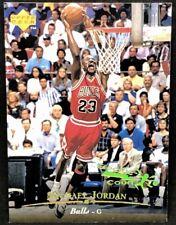 MICHAEL JORDAN 95-96 Upper Deck UD #23 ELECTRIC COURT GOLD PARALLEL ! VERY RARE!