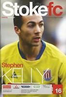 Football Programme - Stoke City v Portsmouth - Premiership - 21/2/2009