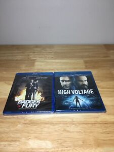 Lot Of 2 Brand New Blu-ray DVDs High Voltage & Badges Of Fury!