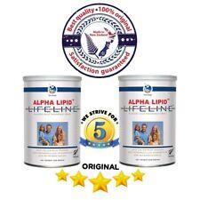 4 can x 450g ORIGINAL QUALITY Alpha Lipid Lifeline Colostrum Powder -DHL EXPRESS