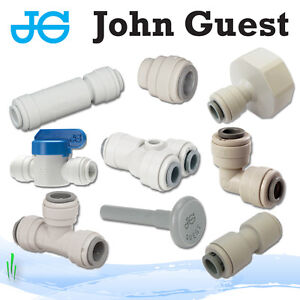 """John Guest 1/4"""" Push Fit fittings drinks, Dispense, Ro Units, Brewery"""