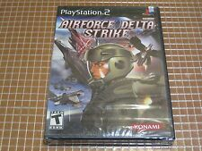 PS2 AIRFORCE DELTA STRIKE KONAMI NUEVO PRECINTADO SEALED USA NTSC