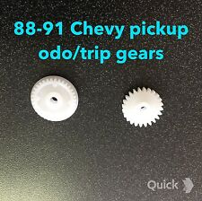 88 89 90 91 Chevy 1500 pickup speedometer,  ODO gears,trip