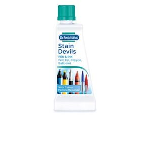 DR Beckmann Stain Devils Remover Cleaner Pen Ink Felt Ballpoint Washing 50ml